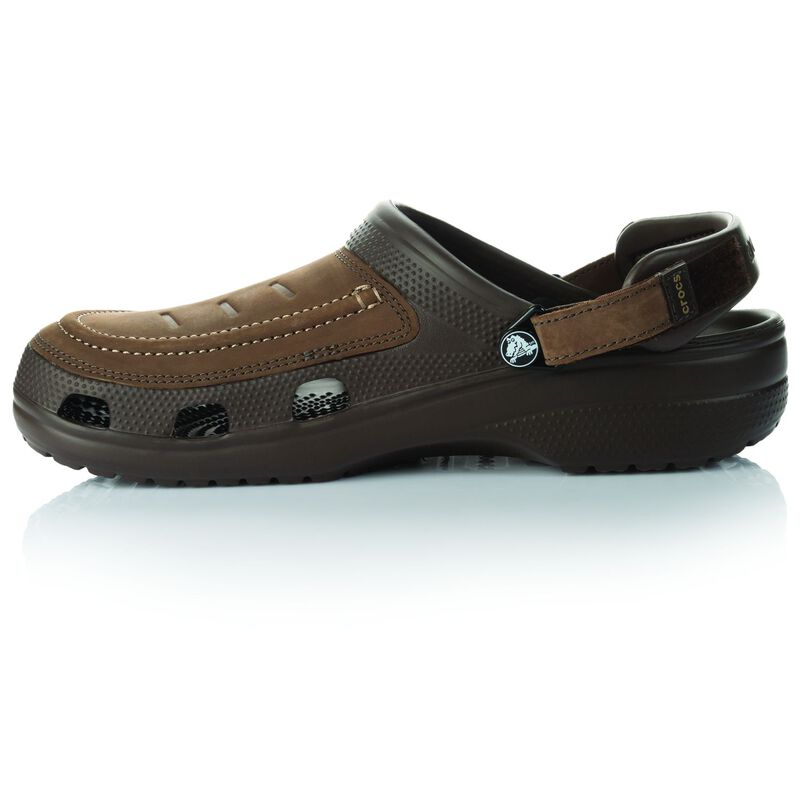 Crocs Men's Yukon Vista Clog -  chocolate-chocolate