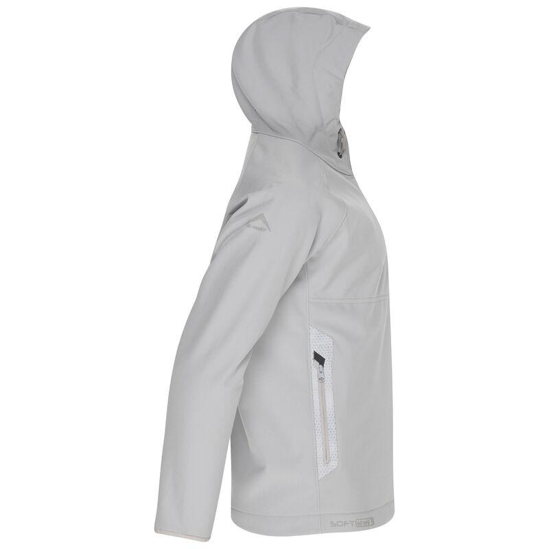 K-Way Youth Ocelot 3-ply Hoody Softshell -  silver-grey
