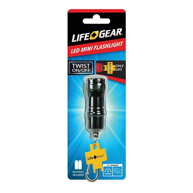 Life+Gear Mini Flashlight -  black