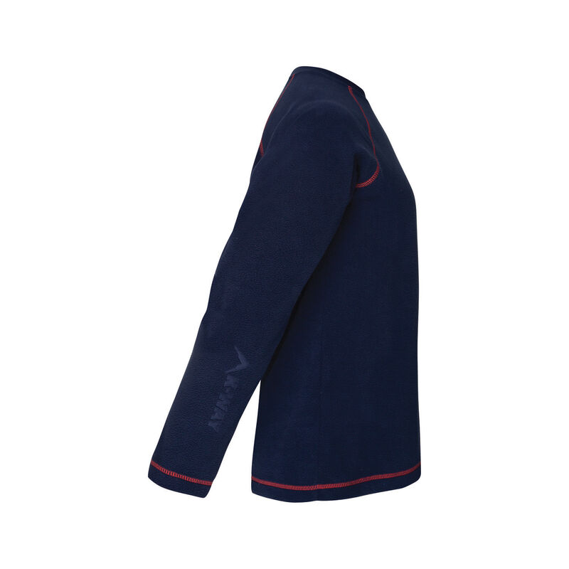 K-Way Hawk Kids Crewneck Fleece -  navy-red