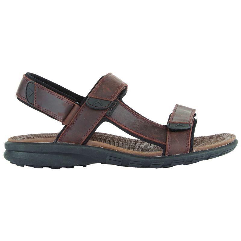 K-Way Men's Traveller Sandal -  brown-black