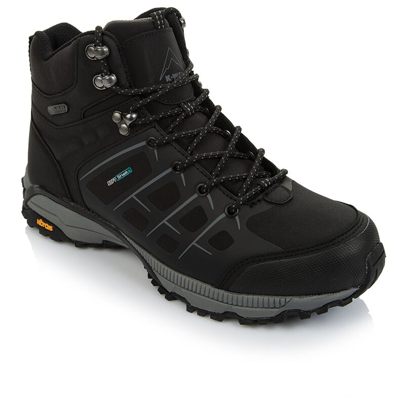 K-Way Men's Edge 2 Boot  -  black-black