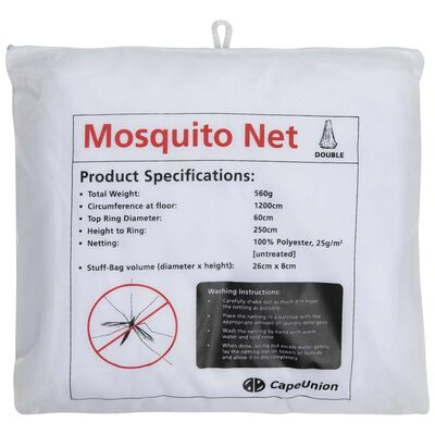 Cape Union Pop-Up Mosquito Net Double