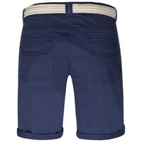 Callia Women's Belted Shorts -  blue-navy