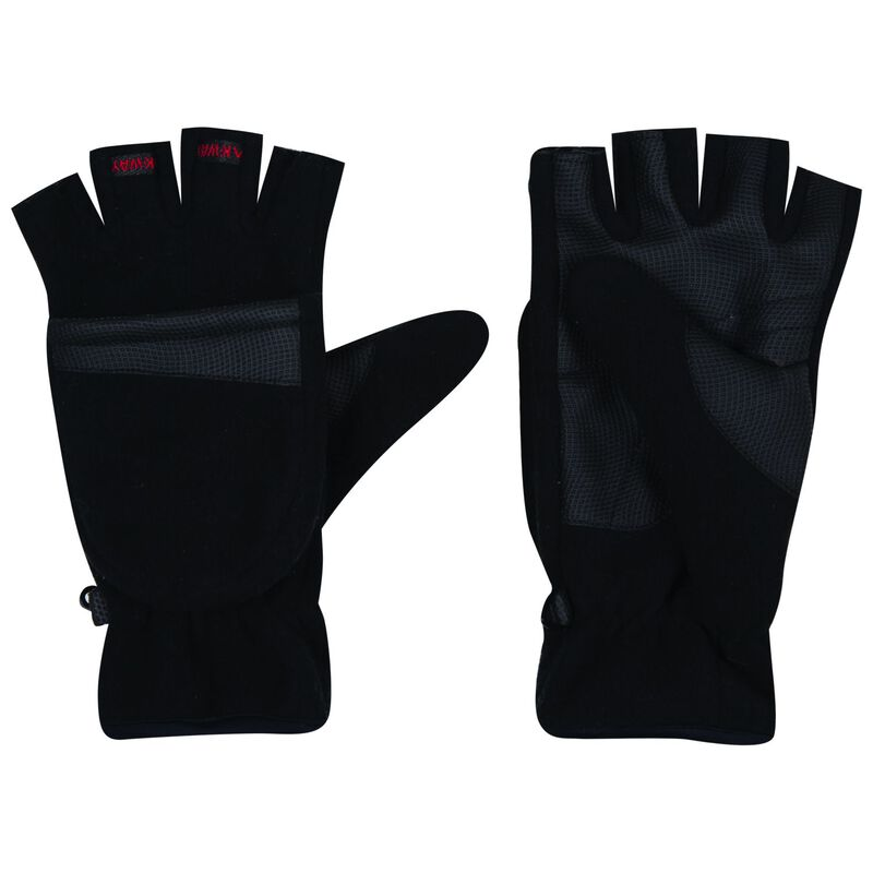 K-Way Peary '18 Mitten -  black-red