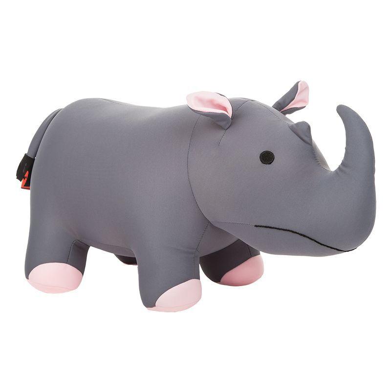 Cuddlebug Rhino Kids Travel Pillow -  nocolour