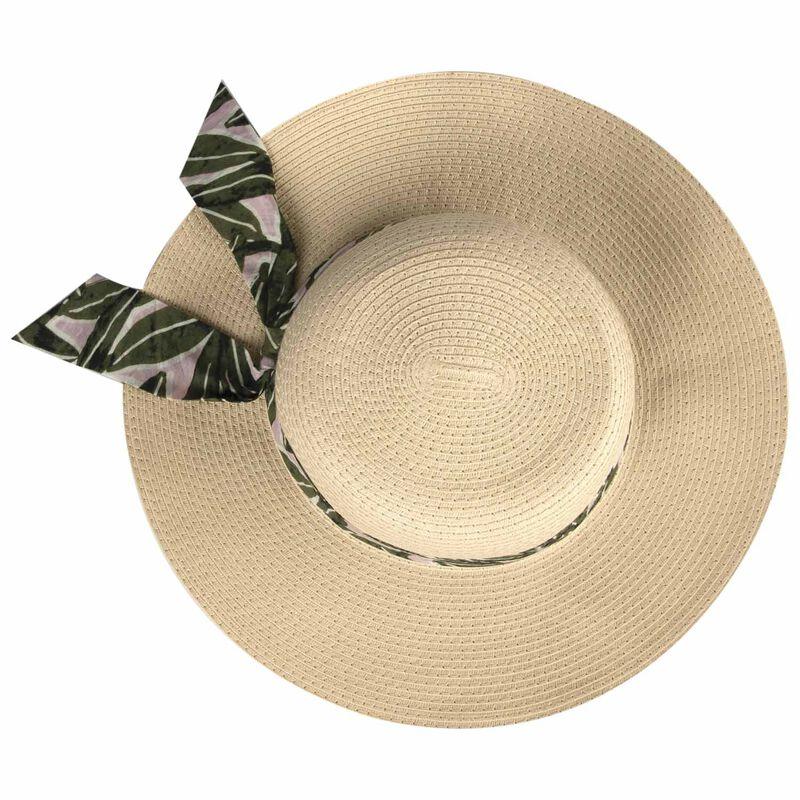 Jesmaine Floppy Sun Hat -  oatmeal-assorted