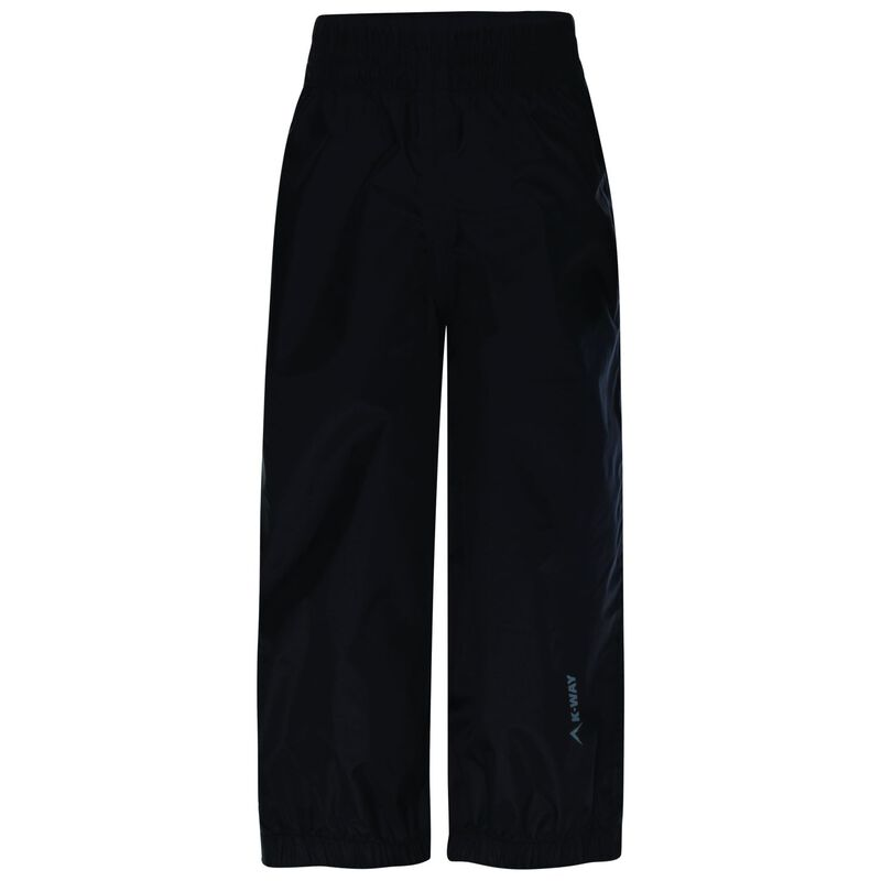 K-Way Youth Raquet Rain Trousers  -  black