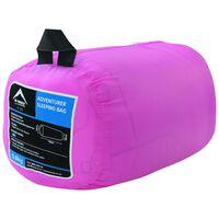 K-Way Printed Adventurer Sleeping Bag -  pink-pink