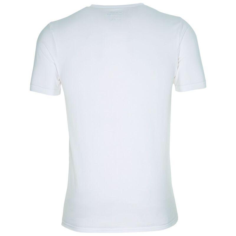 K-Way Men's Thermalator Elite Short Sleeve Vest  -  white