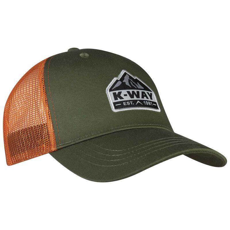 K-Way Scout Trucker Cap -  olive-orange