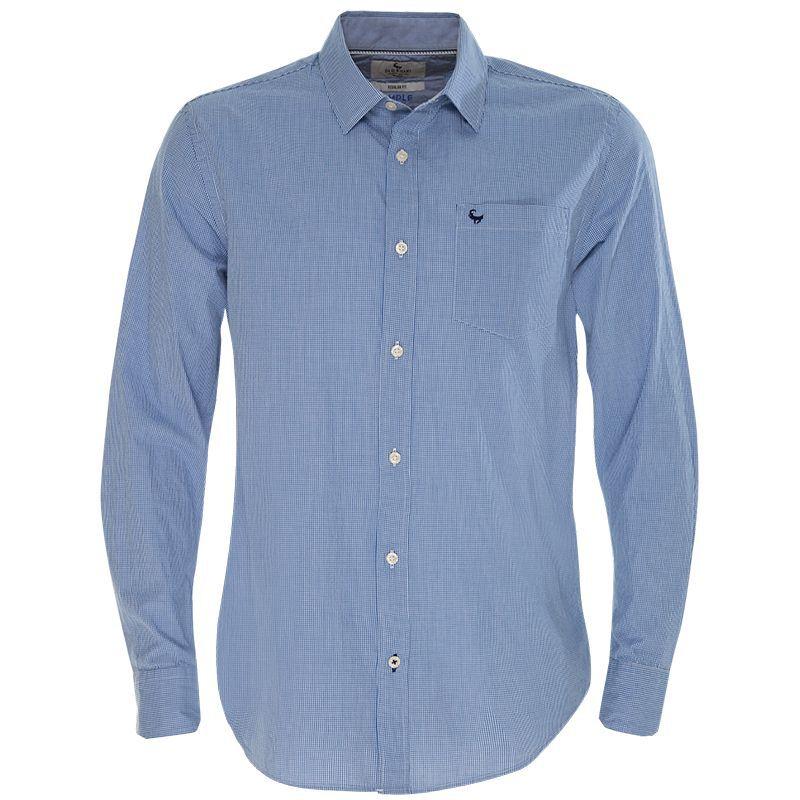 Old Khaki Men's Russel Regular Fit Shirt -  blue