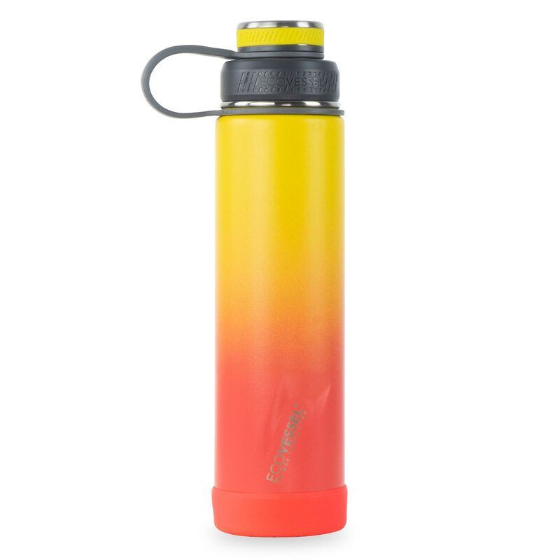 Ecovessel Boulder 710ml Bottle -  red-yellow