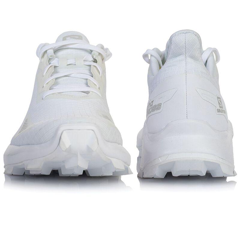 Salomon Women's Alphacross Blast Shoe  -  white-white