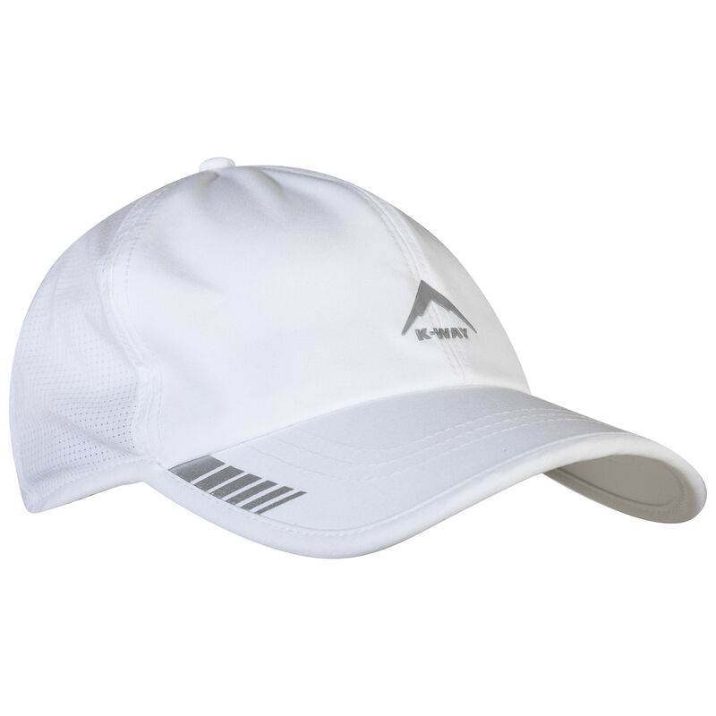 K-Way Stride Running Cap -  white