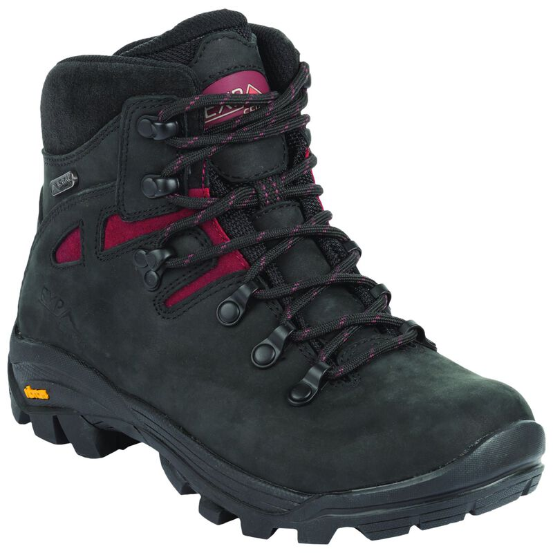 K-Way Women's Kili '16 Boot -  black-burgundy