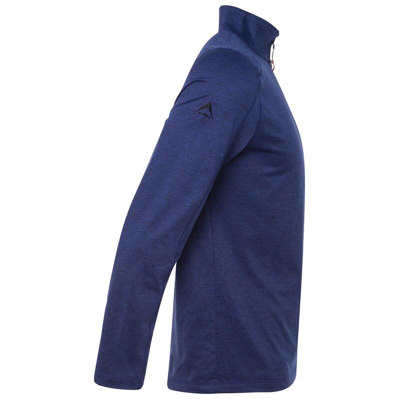 K-Way Men's Clash '19 1/4 Zip Fleece -  blue