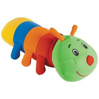Cuddlebug Worm Kids Travel Pillow -  green