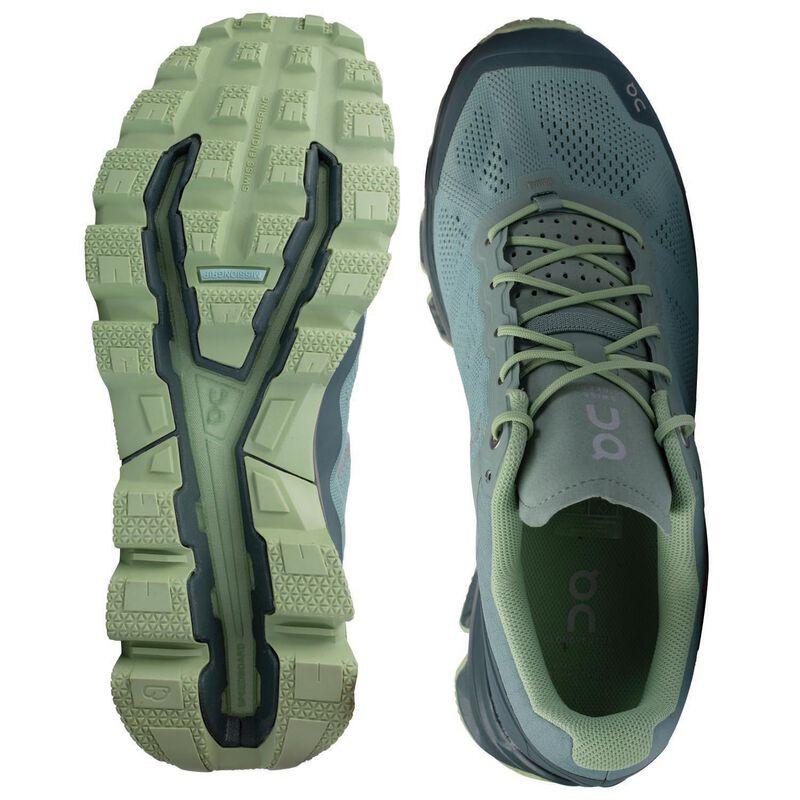 ON Women's Cloudventure Shoe -  avocado-olive