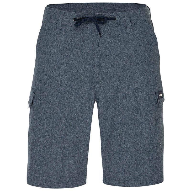 K-Way Men's Explorer Rambler Hybrid Shorts -  midblue