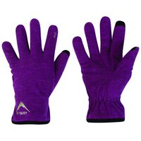 K-Way Touch Kinzer'18 Glove -  berry-darkmagenta
