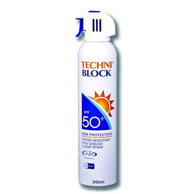 Techniblock SPF50+ 340ml Sunblock