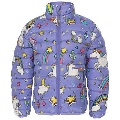 K-Way Kids Printed Cygnet Down Jacket