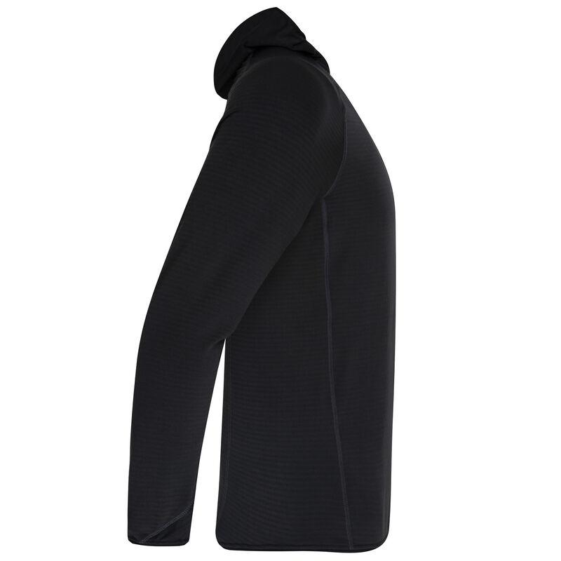 K-Way Men's Heath Fleece -  black-orange