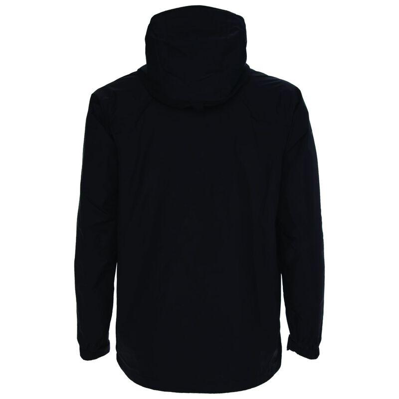 K-Way Men's Franklin Rain Jacket  -  black