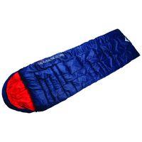 K-Way Traverse 2 Cowl Sleeping Bag -  navy-red