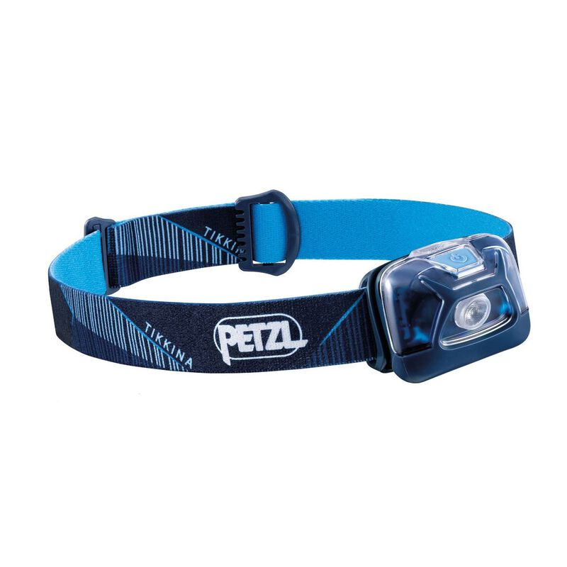 Petzl Tikkina 250 Lumen Headlamp -  blue