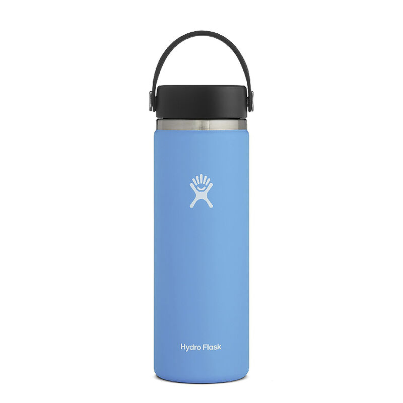 Hydroflask 591ml Wide Mouth -  lightblue
