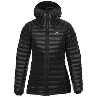 K-Way Women's Martine Hooded Jacket -  black
