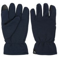 K-Way Carmelo Wool Glove -  navy