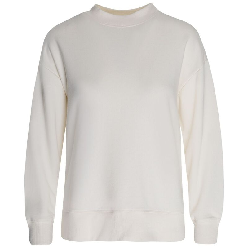 Rare Earth Becky Sweat Top -  milk