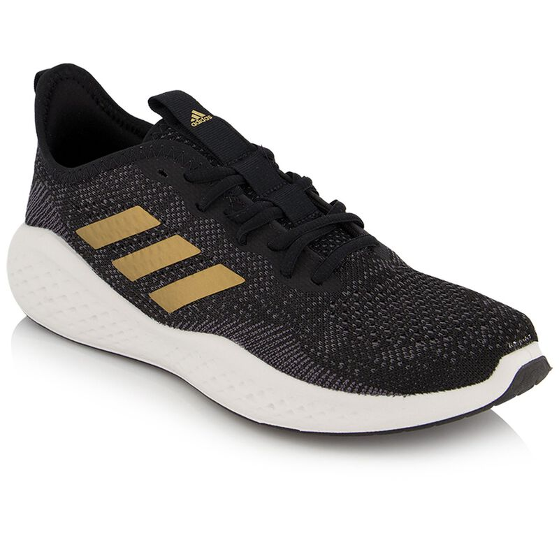 Adidas Women's Fluidflow Sneaker -  black-gold