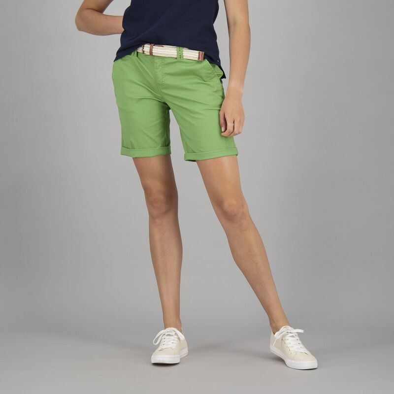 Old Khaki Women's Callia Belted Short -  green