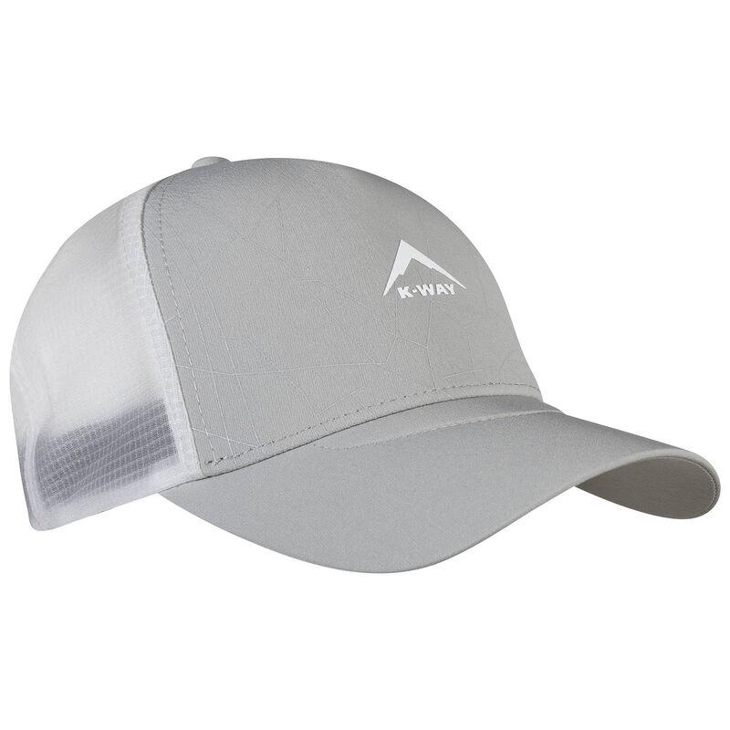 K-Way Blaze Trucker Cap -  grey-white