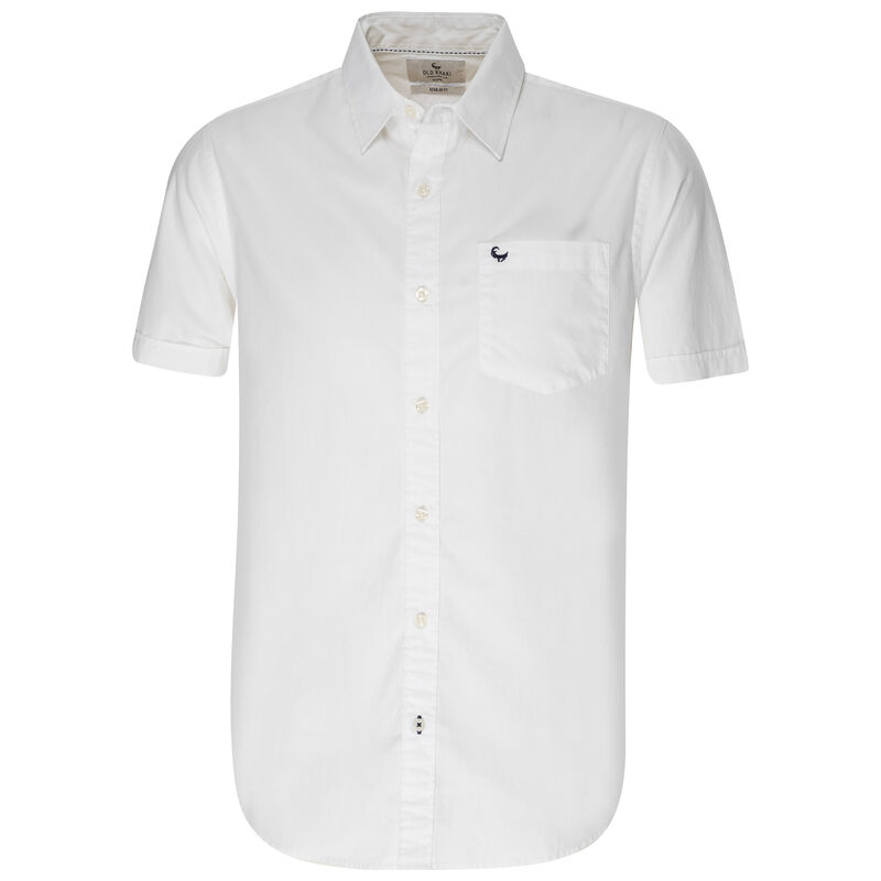Old Khaki Men's Ali Shirt -  white