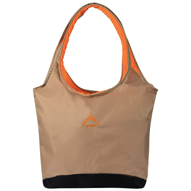 K-Way Tote Bag -  stone-orange