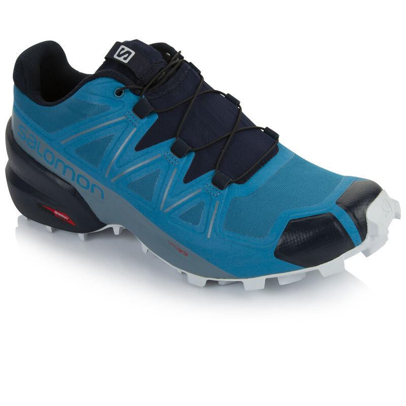 Salomon Men's Speedcross 5 Shoe -  turquoise-navy