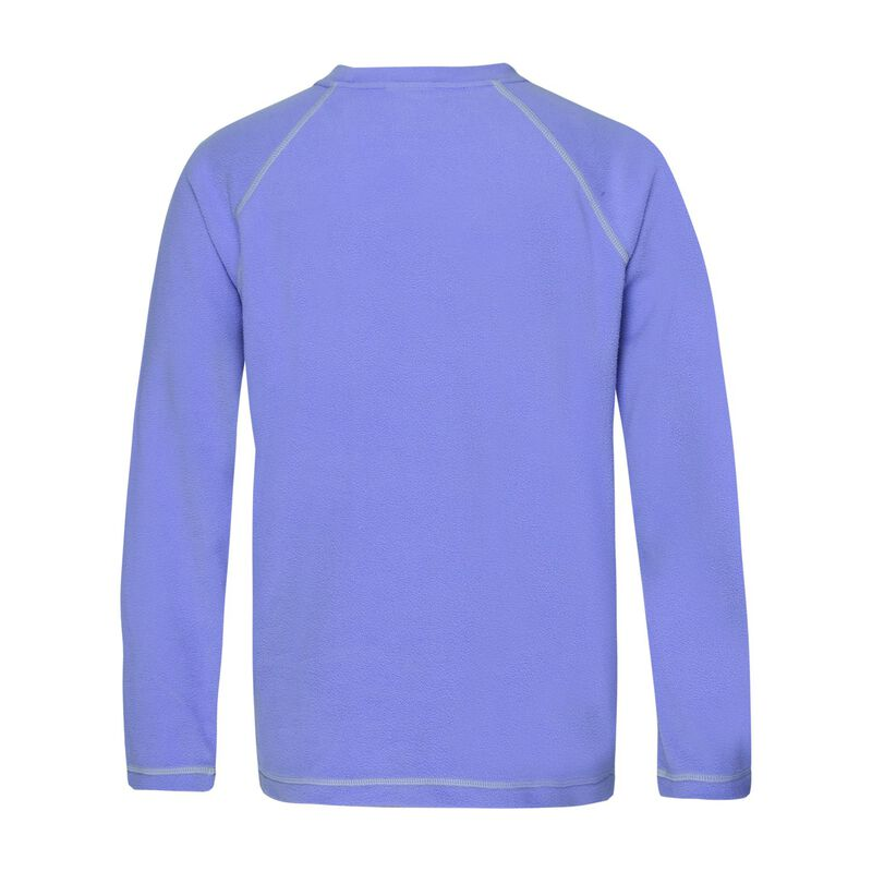 K-Way Youth Hawk Crewneck Fleece -  periwinkle-silver