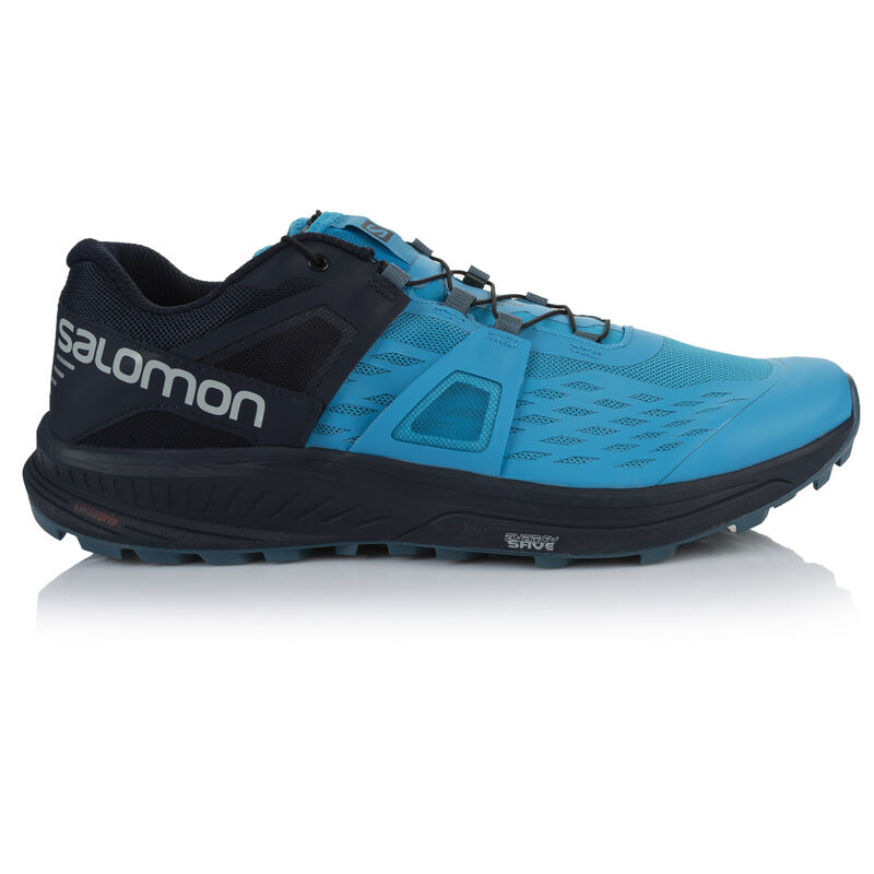 Salomon Men's Ultra Pro Shoe  -  turquoise-navy