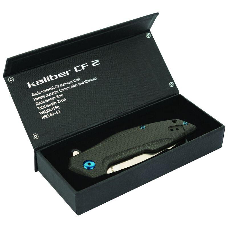 Kaliber CF2 Folding Knife -  silver