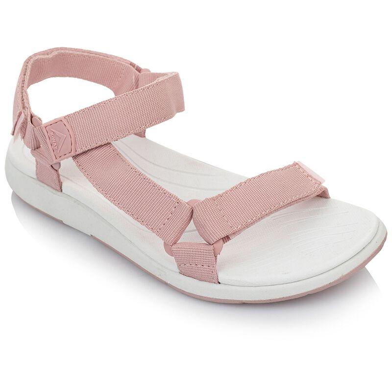 K-Way Women's Zephyr Sandal -  dustypink-white