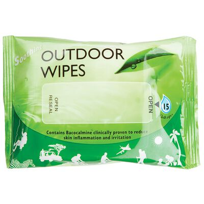 Busby Outdoor Wipes 15