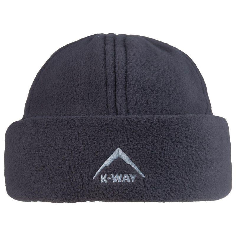 K-Way Fleece Beanie -  charcoal