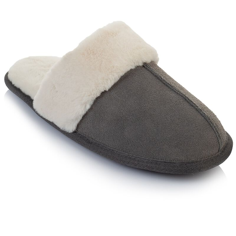 Rare Earth Women's Tori Slipper -  grey-cream