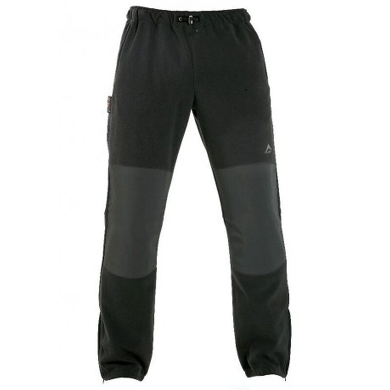 K-Way Men's Boulder '12 Track Pants -  black-black