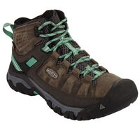 Keen Women's Targhee 3 Mid Waterproof Boot -  olive-aqua